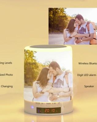 Custom Photo Night Lamp Photo Audio Bluetooth Seven Colors