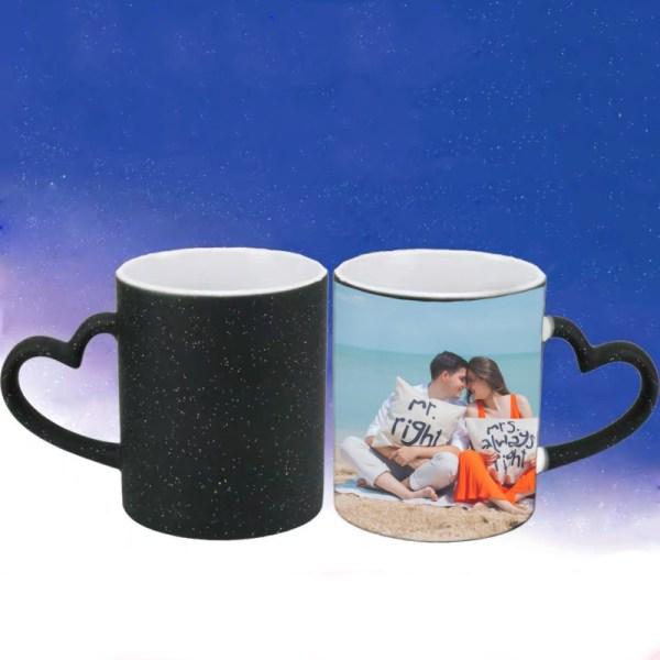 heat changing magic photo mug