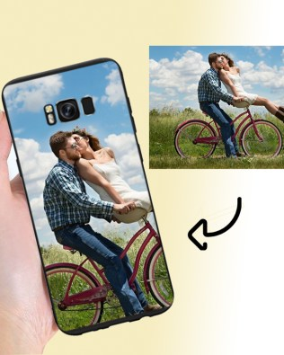 Samsung S8 Plus Custom Photo Phone Case Matte
