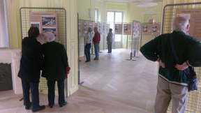 une vue de l'exposition