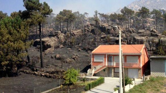 Tras el Incendio. Monte Pindo 12/03/2013