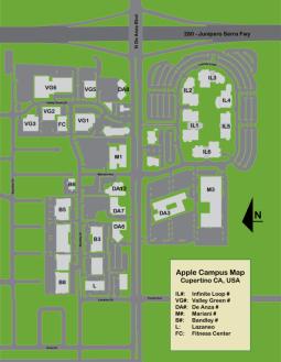 Plano del Apple Campus