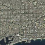 Barcelona vista desde satélite