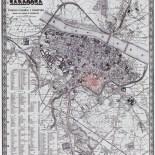 Plano de Zaragoza, Dionisio Casañal, 1899