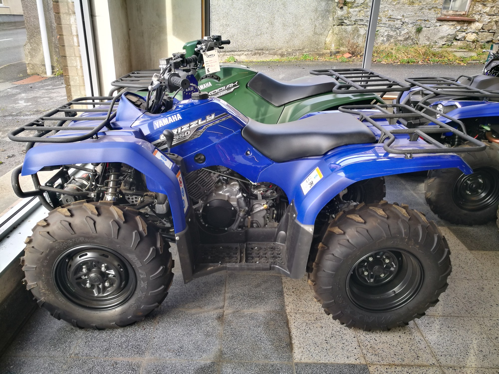 hight resolution of yamaha grizzly 350 2wd