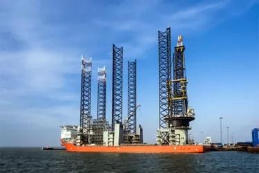 jack-up drilling rig