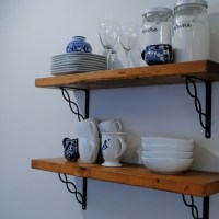 Tips to Add Extra Kitchen Storage (and Salvaged Shelves Reveal!)