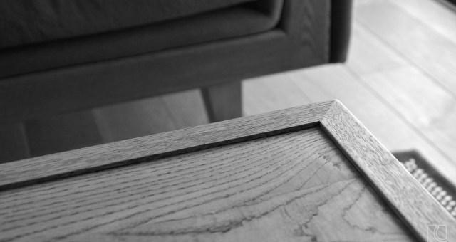 パーケットフローリングテーブル/ナラ