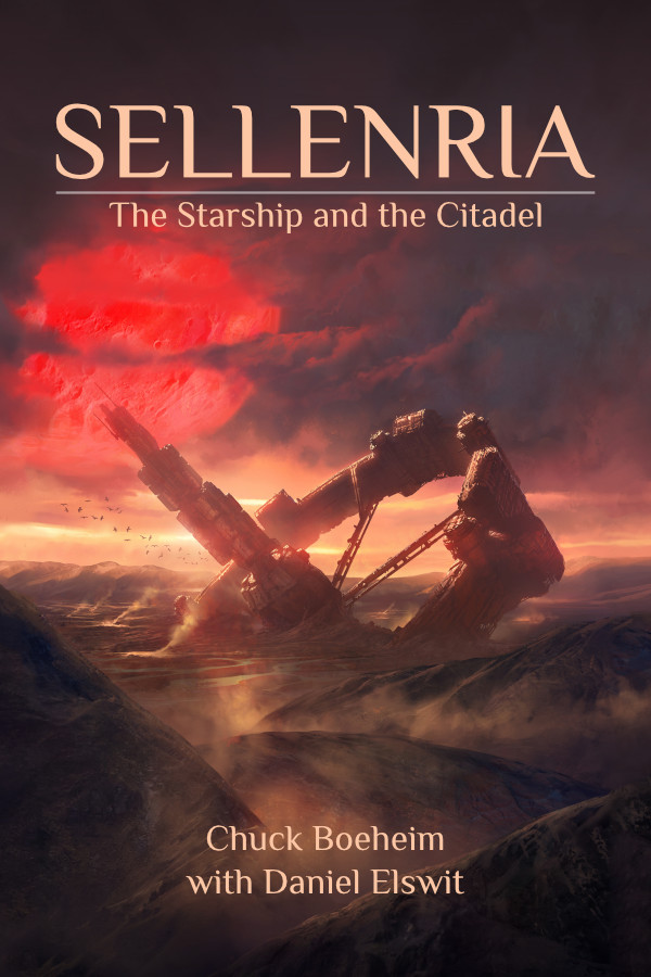 Sellenria - a science fiction adventure blended with epic fantasy
