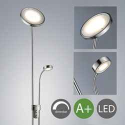 lampara pie led regulable B.K. Licht