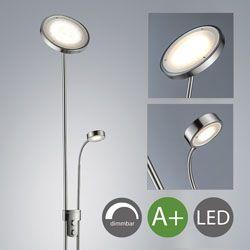 lampara pie led regulable B.K. Licht