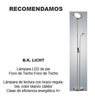 lamparas de pie para salon bk licht