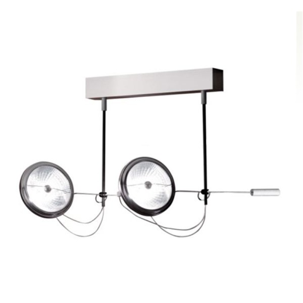 Absolut Lighting 455 WDS 2 plafondlamp chroom
