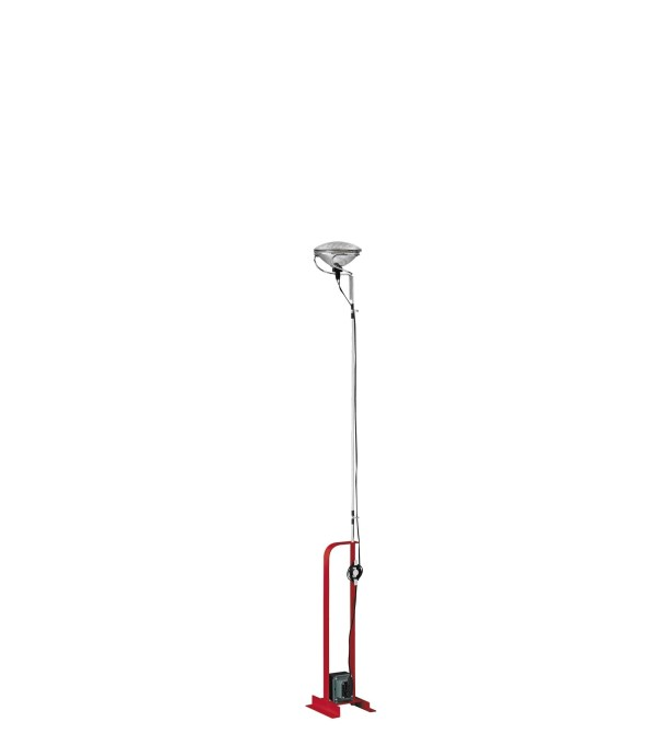 Flos - Toio vloerlamp Rood