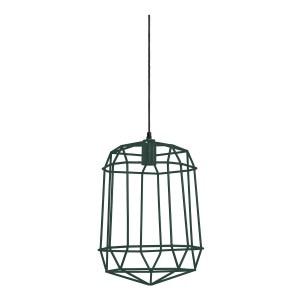 Light&Living Hanglamp MOLUN groen 44 x 33 x 33