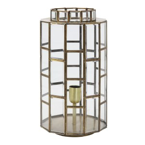 Light&Living Tafellamp SOSTRENE brons L 45 x Ø24