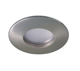 Ronde armatuur, waterbestendig, 50 mm, RVS