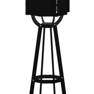 Tuinlamp Valo Zwart