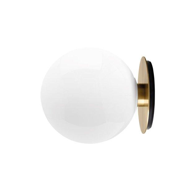 Menu TR Bulb Wand- Plafondlamp - Messing / Shiny