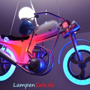 Motorrad LED - Pendelleuchte mit Fernbedienung | Discount