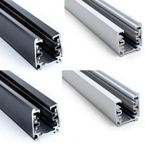 3 Phasen Stromschiene - weiß oder schwarz | LED Sale