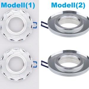 Einbaustrahler GU10 - Einbauspot Rahmen MR16 Glas | Qualität