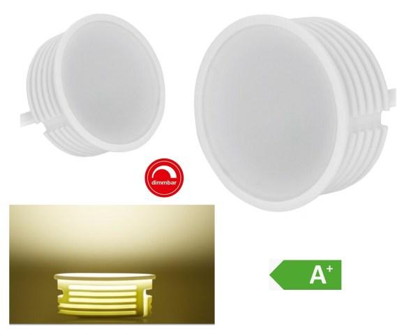 LED Modul GU10 flach dimmbar 5W LED Module Flach