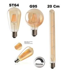 E27 LED Dimmbar COB Filament