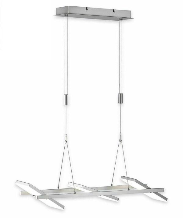 LED Pendelleuchte Büro Decken lampe drehbar Dimmbar Dimmer R