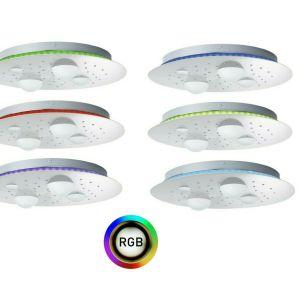 LED BRILLIANT PLANETS Deckenleuchte Dimmbar RGB
