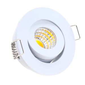 LED Mini Einbaustrahler Schwenkbar 3W