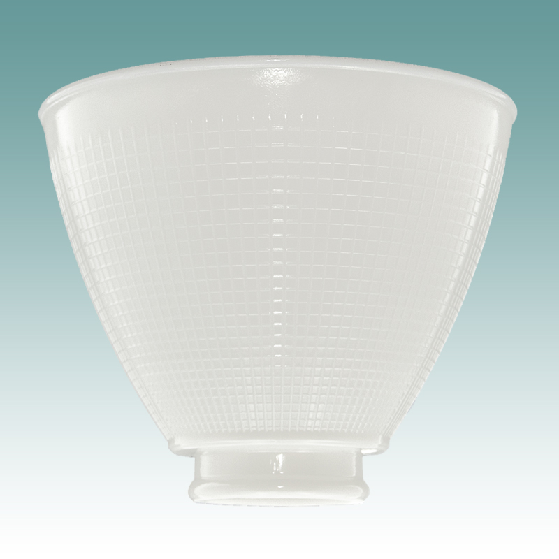 1130  White IES Diffuser 6  Glass Lampshades