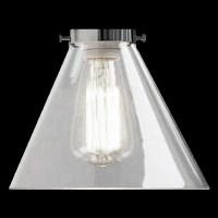 #6517 - Clear Glass Cone Shade - Glass Lampshades