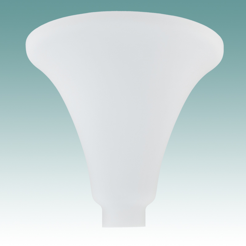9972 S  Satin White Torchiere 10 12  Glass Lampshades