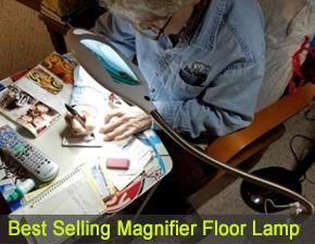 daylight magnifying floor lamp