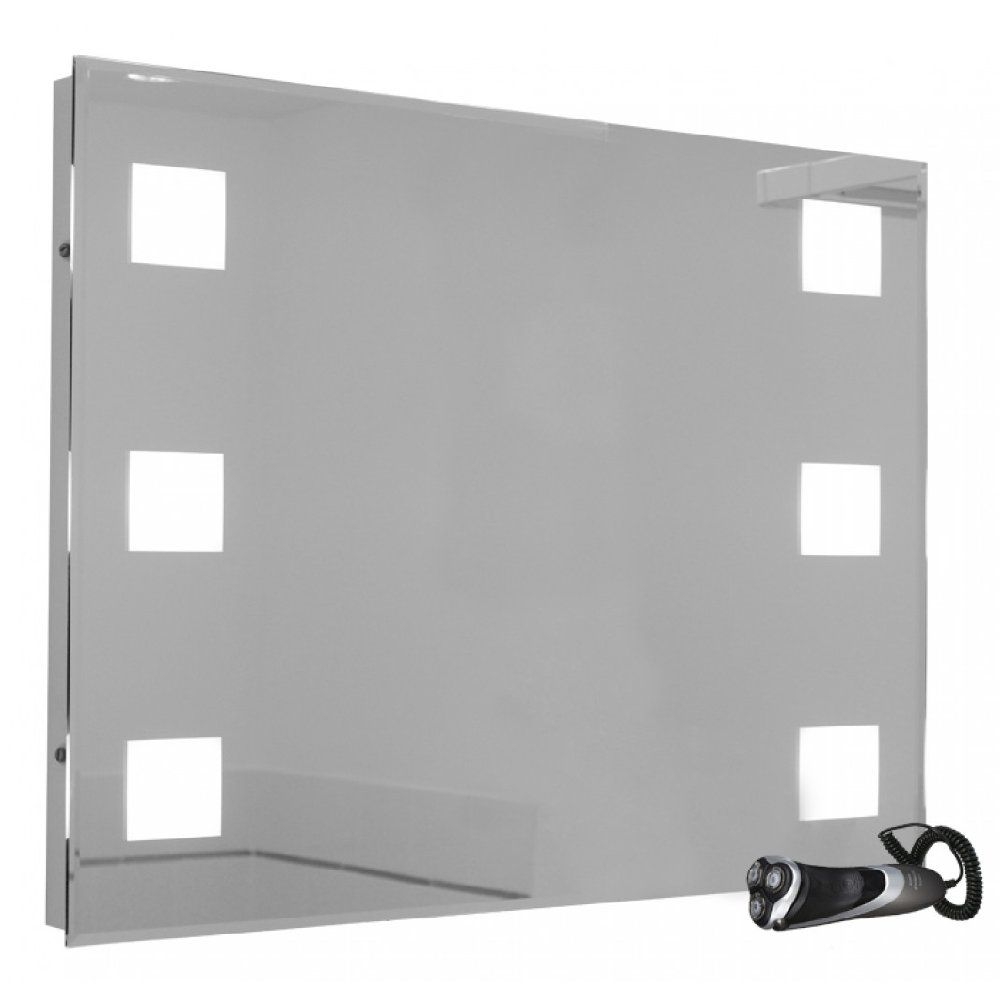 Illuminated Bathroom Mirror Snaresbrook 6804 Rectangular Landscape Illuminated Bathroom Mirror