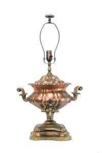Antique Copper Samovar Lamp | The Lamp Shoppe