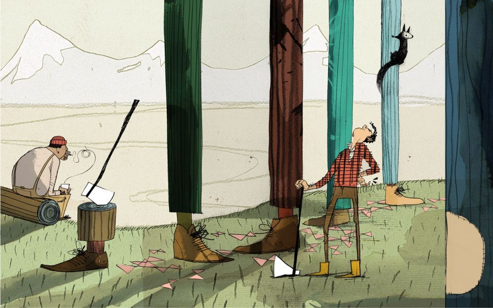 Gambar Ilustrasi Kartun Lucu 34  Lampu Kecil