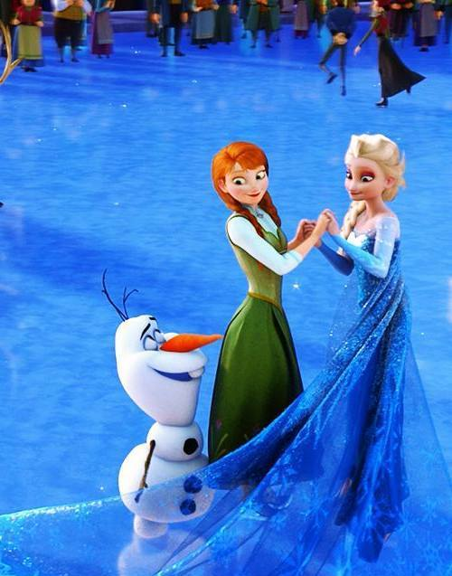 Gambar Tokoh Frozen