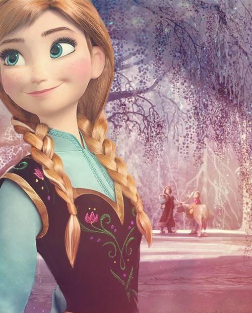 Gambar Kartun Frozen Elsa Dan Anna