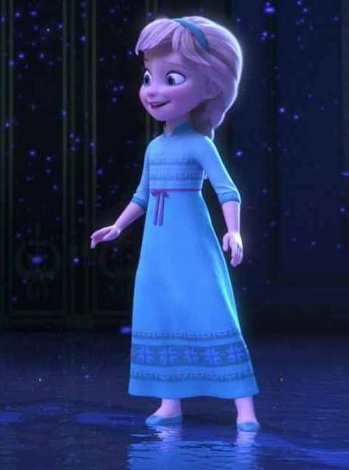 Gambar Foto Elsa Frozen Kecil 5  Lampu Kecil