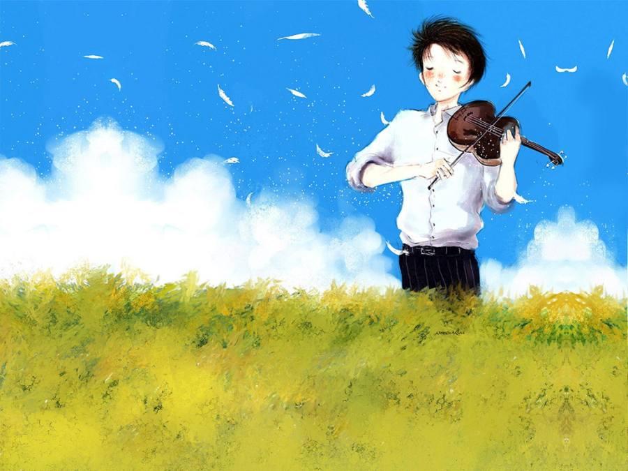 Gambar Ilustrasi Kartun Korea Cool  Lampu Kecil
