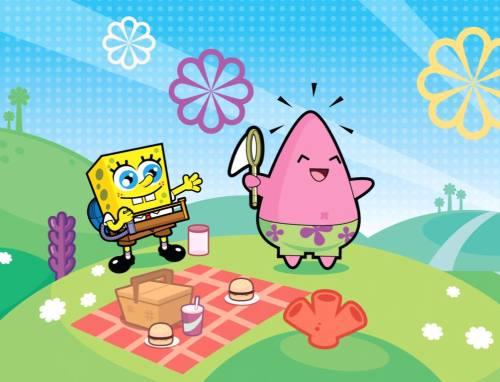 150 Gambar Lucu Kartun SpongeBob SquarePants  Lampu Kecil