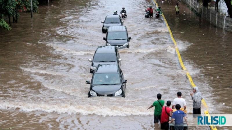 Banjir di DKI Jakarta beberapa waktu lalu. Foto: Dok Rilisid