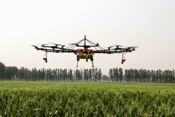 Hasil gambar untuk Drone Sawah