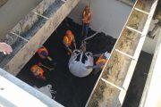 Vệ sinh công nghiệp bể lọc nước nhà máy