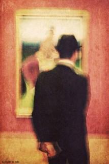 El artista y su obra - Retrato de Pedro Aparicio