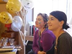Avec Laetitia Pettini
