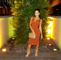 Rust colored dresses | Style color dress