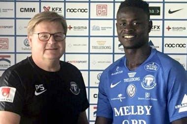 Insólito: futbolista de Sierra Leona renunció a equipo sueco porque tenía frío